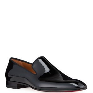Christian Louboutin Men's Dandelion Patent Leather Loafers