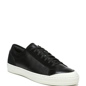 Vince Men's Wescott Mix-Leather Low-Top Sneakers